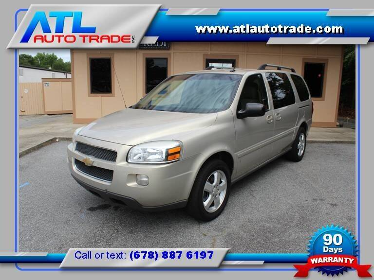2007 Chevrolet Uplander for sale at ATL Auto Trade, Inc. in Stone Mountain GA