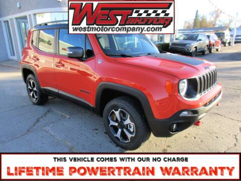 2021 Jeep Renegade for sale at West Motor Company in Preston ID