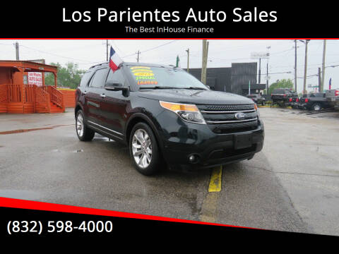 2015 Ford Explorer for sale at Los Parientes Auto Sales in Houston TX