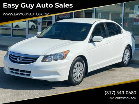2012 Honda Accord for sale at Easy Guy Auto Sales in Indianapolis IN