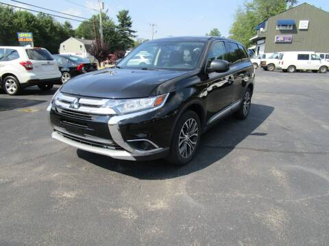 2016 Mitsubishi Outlander for sale at Route 12 Auto Sales in Leominster MA