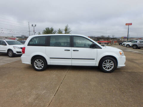 2015 Dodge Grand Caravan for sale at BLACKWELL MOTORS INC in Farmington MO