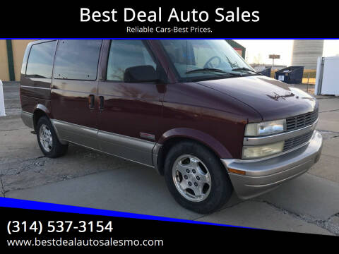 2004 Chevrolet Astro for sale at Best Deal Auto Sales in Saint Charles MO