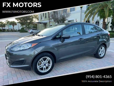 2017 Ford Fiesta for sale at FX MOTORS in Margate FL