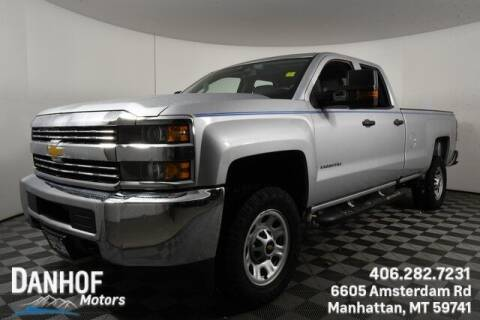 2018 Chevrolet Silverado 2500HD for sale at Danhof Motors in Manhattan MT