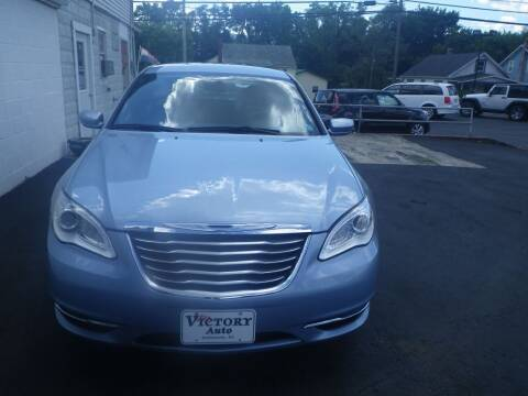 2013 Chrysler 200 for sale at VICTORY AUTO in Lewistown PA