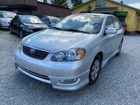 2006 Toyota Corolla for sale at Velocity Autos in Winter Park FL