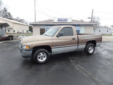 2001 Dodge Ram Pickup 1500 for sale at DeLong Auto Group in Tipton IN