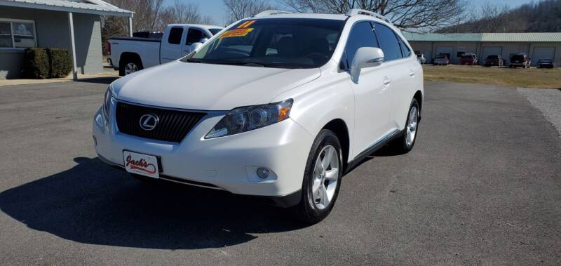 2011 Lexus RX 350 for sale at Jacks Auto Sales in Mountain Home AR