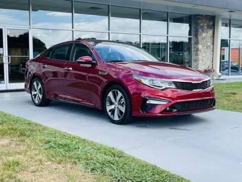 2019 Kia Optima for sale at RUSTY WALLACE CADILLAC GMC KIA in Morristown TN