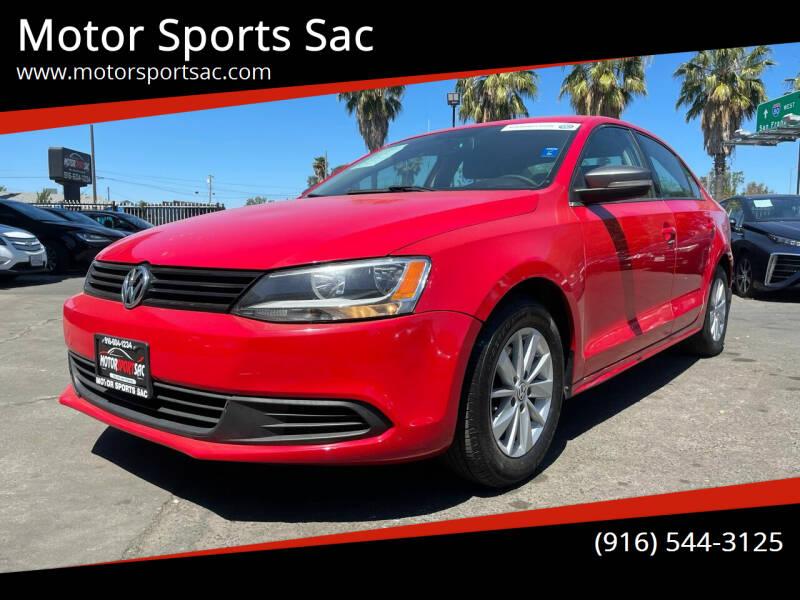 2013 Volkswagen Jetta for sale at Motor Sports Sac in Sacramento CA