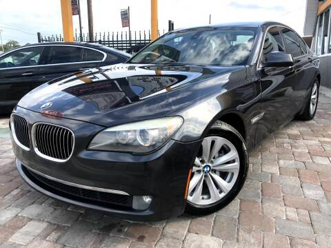 2011 BMW 7 Series for sale at Unique Motors of Tampa in Tampa FL