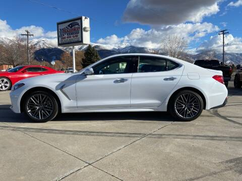 2019 Genesis G70 for sale at Haacke Motors in Layton UT