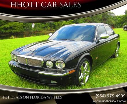 2007 Jaguar XJ-Series for sale at HHOTT CAR SALES in Deerfield Beach FL