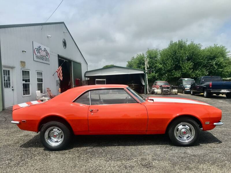 1968 Chevrolet Camaro for sale at 500 CLASSIC AUTO SALES in Knightstown IN