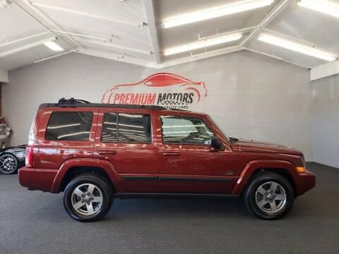 2008 Jeep Commander for sale at Premium Motors in Villa Park IL