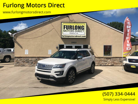 2017 Ford Explorer for sale at Furlong Motors Direct in Faribault MN