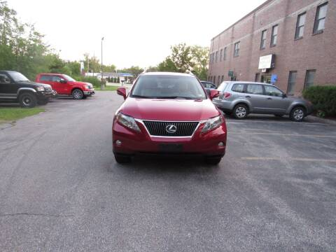 2012 Lexus RX 350 for sale at Heritage Truck and Auto Inc. in Londonderry NH