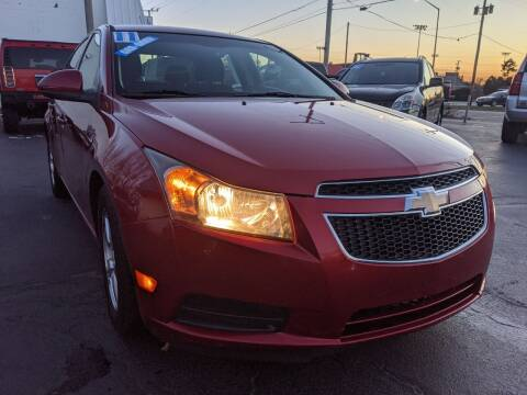 2011 Chevrolet Cruze for sale at GREAT DEALS ON WHEELS in Michigan City IN