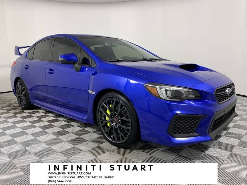 2018 Subaru WRX for sale at Infiniti Stuart in Stuart FL
