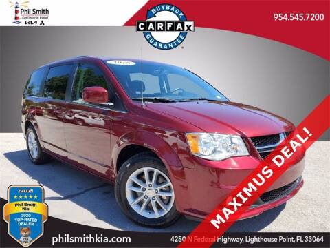 2018 Dodge Grand Caravan for sale at PHIL SMITH AUTOMOTIVE GROUP - Phil Smith Kia in Lighthouse Point FL