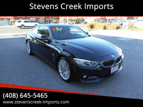 2015 BMW 4 Series for sale at Stevens Creek Imports in San Jose CA