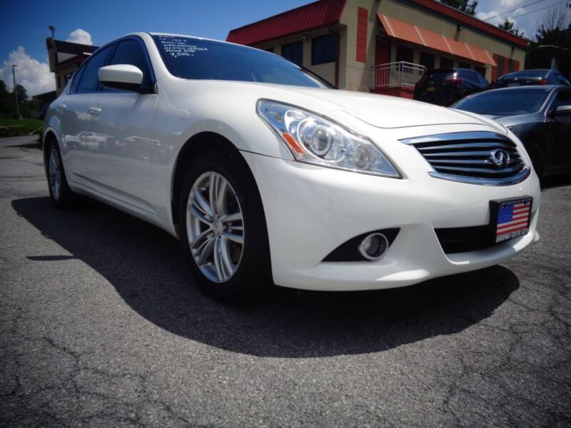 2012 Infiniti G37 Sedan for sale at Quickway Exotic Auto in Bloomingburg NY