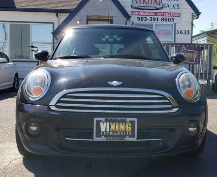 2011 MINI Cooper for sale at VIking Auto Sales LLC in Salem OR
