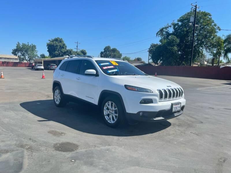 2016 Jeep Cherokee for sale at Mega Motors Inc. in Stockton CA