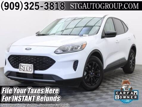 2020 Ford Escape Hybrid for sale at STG Auto Group in Montclair CA