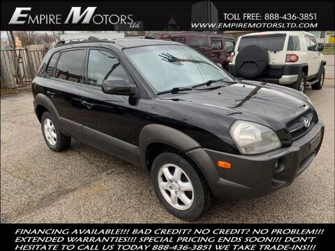 2005 Hyundai Tucson for sale at Empire Motors LTD in Cleveland OH