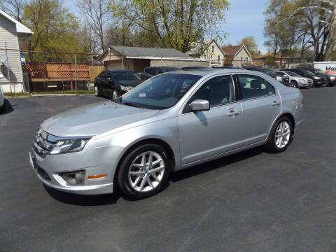 2012 Ford Fusion for sale at Goodman Auto Sales in Lima OH