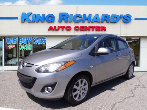 2011 Mazda MAZDA2 for sale at KING RICHARDS AUTO CENTER in East Providence RI