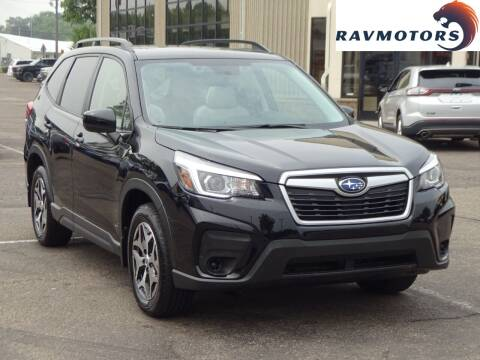 2020 Subaru Forester for sale at RAVMOTORS 2 in Crystal MN