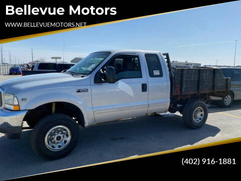2002 Ford F-250 Super Duty for sale at Bellevue Motors in Bellevue NE