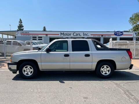 2005 Chevrolet Avalanche for sale at MOTOR CARS INC in Tulare CA