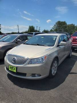 2011 Buick LaCrosse for sale at Jeff's Sales & Service in Presque Isle ME