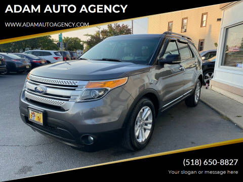 2011 Ford Explorer for sale at ADAM AUTO AGENCY in Rensselaer NY