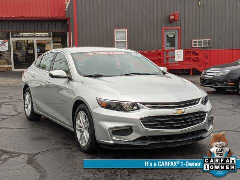 2016 Chevrolet Malibu for sale at Bob Walters Linton Motors in Linton IN