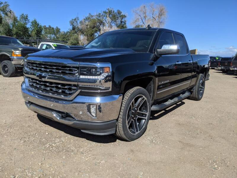 2016 Chevrolet Silverado 1500 for sale at HORSEPOWER AUTO BROKERS in Fort Collins CO