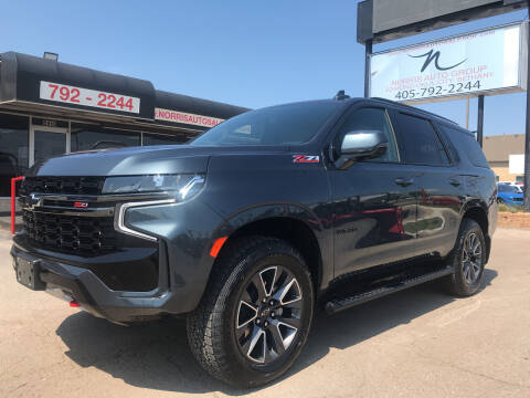 2021 Chevrolet Tahoe for sale at NORRIS AUTO SALES in Oklahoma City OK