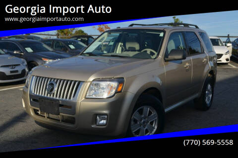 2011 Mercury Mariner for sale at Georgia Import Auto in Alpharetta GA