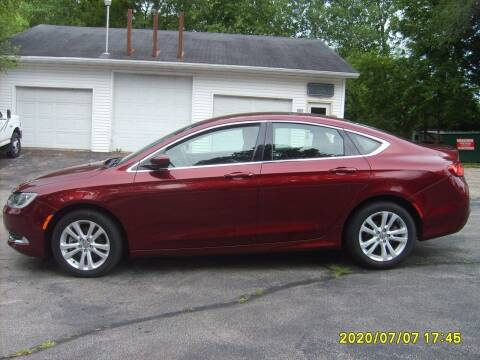 2016 Chrysler 200 for sale at Northport Motors LLC in New London WI