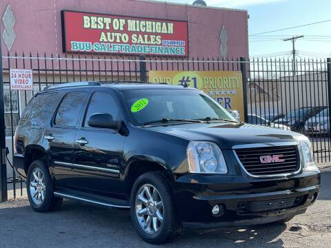 2012 GMC Yukon for sale at Best of Michigan Auto Sales in Detroit MI