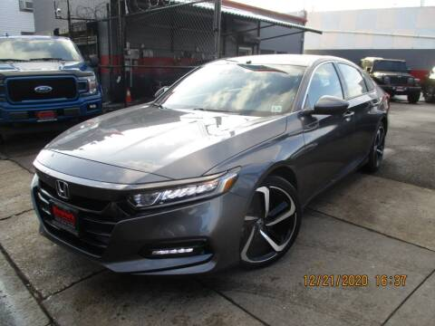 2018 Honda Accord for sale at Newark Auto Sports Co. in Newark NJ