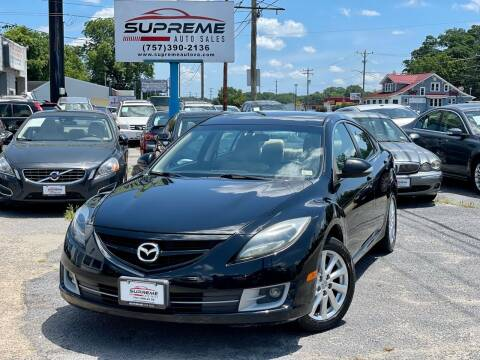 2011 Mazda MAZDA6 for sale at Supreme Auto Sales in Chesapeake VA