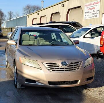 2008 Toyota Camry for sale at PINNACLE ROAD AUTOMOTIVE LLC in Moraine OH