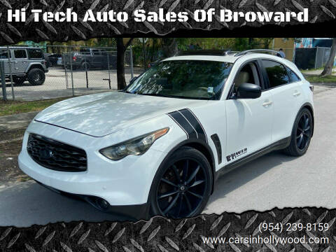 2011 Infiniti FX35 for sale at Hi Tech Auto Sales Of Broward in Hollywood FL