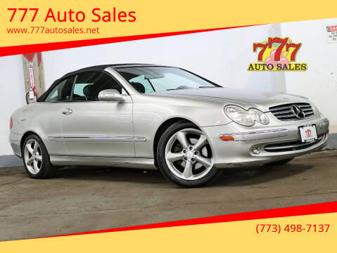 2005 Mercedes-Benz CLK for sale at 777 Auto Sales in Bedford Park IL