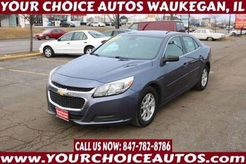 2014 Chevrolet Malibu for sale at Your Choice Autos - Waukegan in Waukegan IL